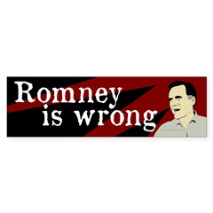Romney is Wrong