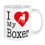 I Love My Boxer Mug