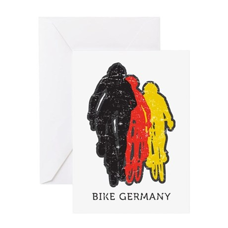 Bike Germany Greeting Card