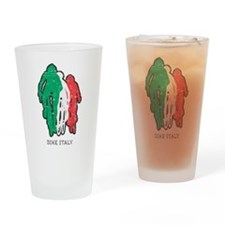 Bike Italy Drinking Glass