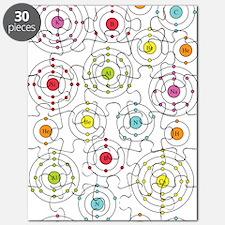 Periodic Shells Puzzle