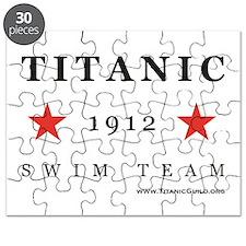 Titanic 1912 Swim Team Puzzle