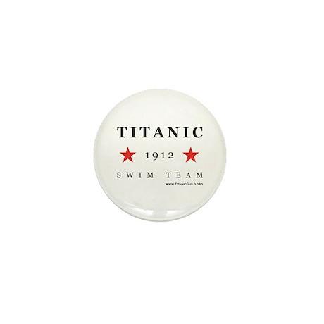 Titanic 1912 Swim Team Mini Button (10 pack)