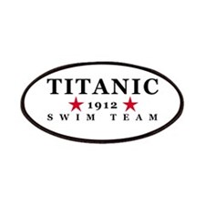 Titanic 1912 Swim Team Patches