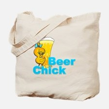Beer Chick #2 Tote Bag