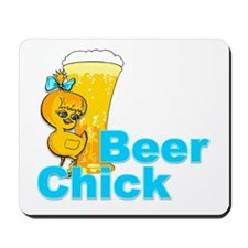 Beer Chick #2 Mousepad