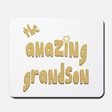 The Amazing Grandson Mousepad