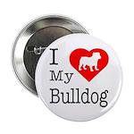 I Love My Bulldog 2.25