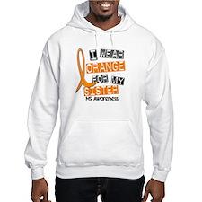 I Wear Orange 37 MS Hoodie