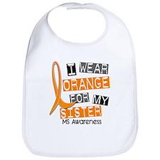 I Wear Orange 37 MS Bib