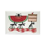 Funny Picnic Rectangle Magnet