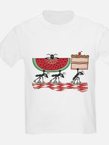 Funny Picnic Kids T-Shirt
