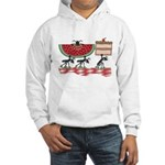 Funny Picnic Hooded Sweatshirt