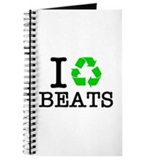 I Recycle Beats Journal