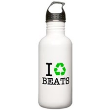 I Recycle Beats Water Bottle