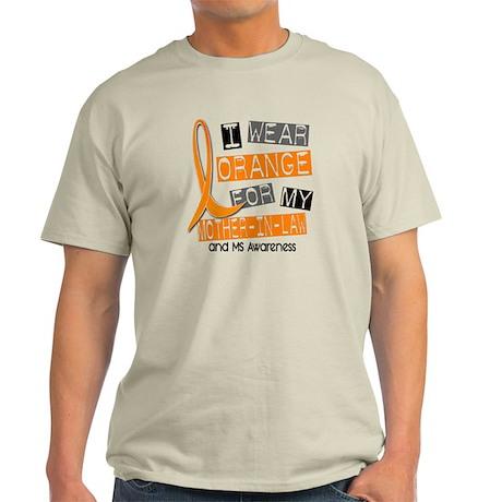 I Wear Orange 37 MS Light T-Shirt