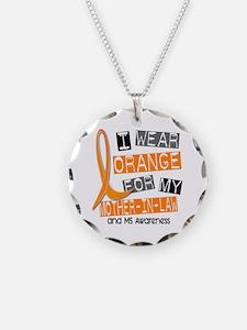 I Wear Orange 37 MS Necklace