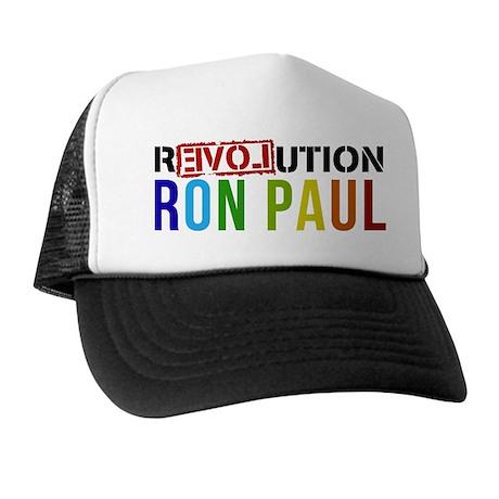 RON PAUL simple Trucker Hat