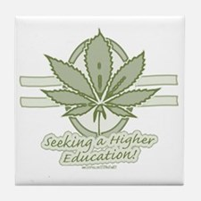 Higher Education Party Tile Coaster