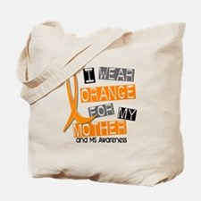 I Wear Orange 37 MS Tote Bag