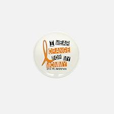 I Wear Orange 37 MS Mini Button (100 pack)