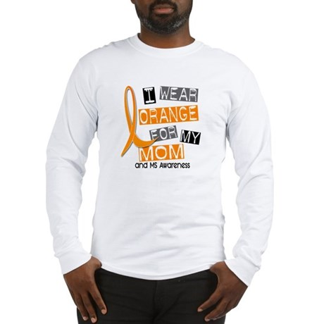 I Wear Orange 37 MS Long Sleeve T-Shirt