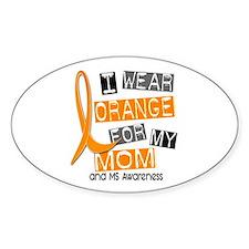I Wear Orange 37 MS Decal