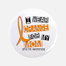 "I Wear Orange 37 MS 3.5"" Button (100 pack)"