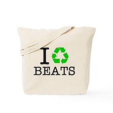 I Recycle Beats Tote Bag
