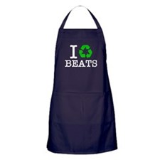 I Recycle Beats Apron (dark)