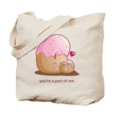 Donut Pair Tote Bag