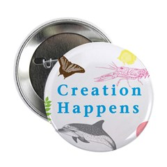 "Creation Happens 2.25"" Button (100 pack)"