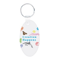 Creation Happens Keychains