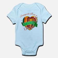 I heart Sri Lankan Designs Infant Bodysuit