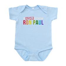 RON PAUL simple dark Infant Bodysuit