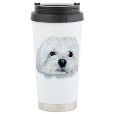 Bogart the Maltese Travel Mug