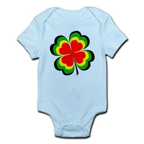 Lucky Irish Rasta Infant Bodysuit
