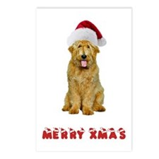 Goldendoodle Christmas Postcards (Package of 8)