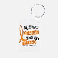 I Wear Orange 37 MS Keychains