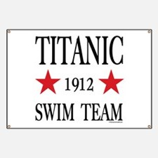 Titanic 1912 Swim Team Banner