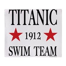 Titanic 1912 Swim Team Throw Blanket