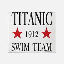 Titanic 1912 Swim Team Throw Blanket