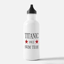Titanic 1912 Swim Team Water Bottle