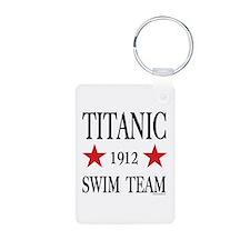 Titanic 1912 Swim Team Keychains