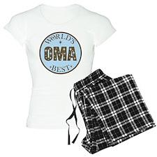 Oma Gift World's Best Pajamas