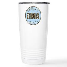Oma Gift World's Best Travel Mug
