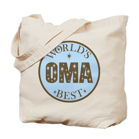 Oma Gift World's Best Tote Bag