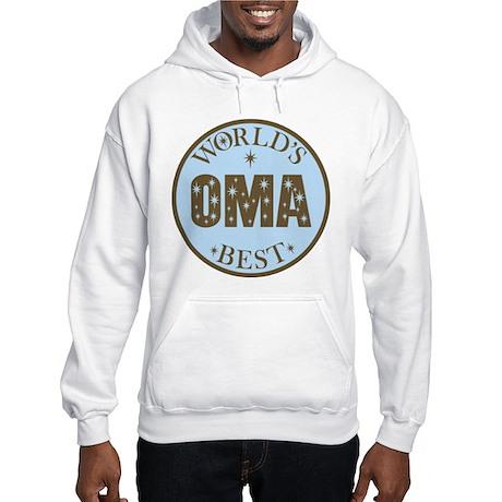 Oma Gift World's Best Hooded Sweatshirt