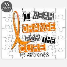 I Wear Orange 37 MS Puzzle