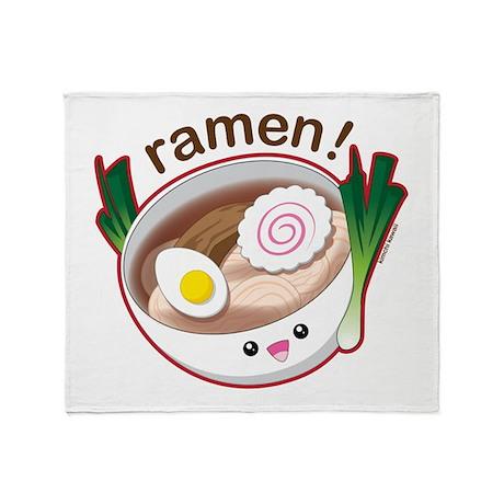 Ramen! Throw Blanket